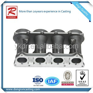 Chinese aluminum casting manufacture supply OEM casting intake manifold