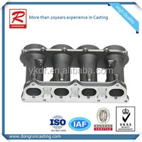 Chinese aluminum casting manufacture supply OEM casting intake manifold with high quality