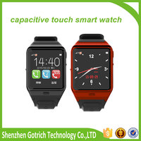 New touch screen watch mobile phone smart watch android dual sim