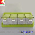 New design different type of daily necessities multi-color Dustproof seasoning box