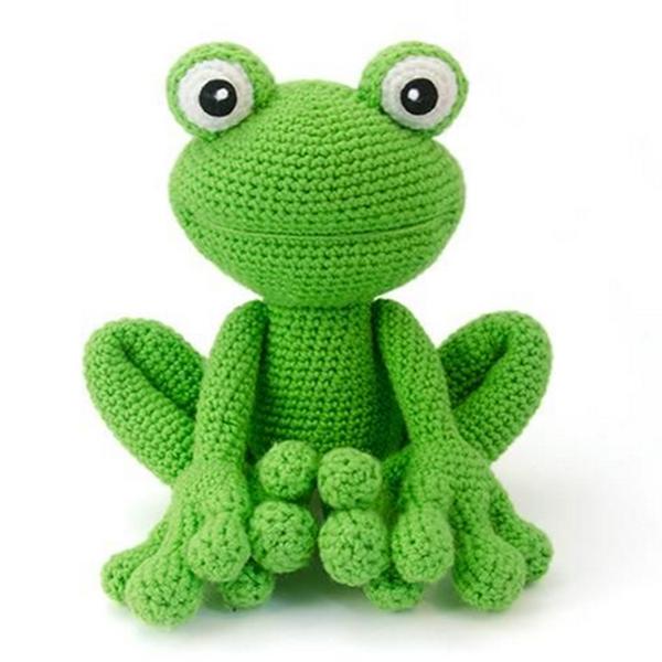 Kawaii Frog Amigurumi : 100 % Handmade By Crochet Yarn,Amigurumi Crochet Frogs ...