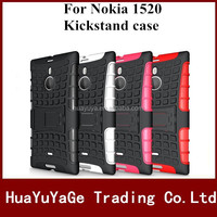Robot Kickstand TPU&PC Combo phone cases cover for Nokia Lumia 1520