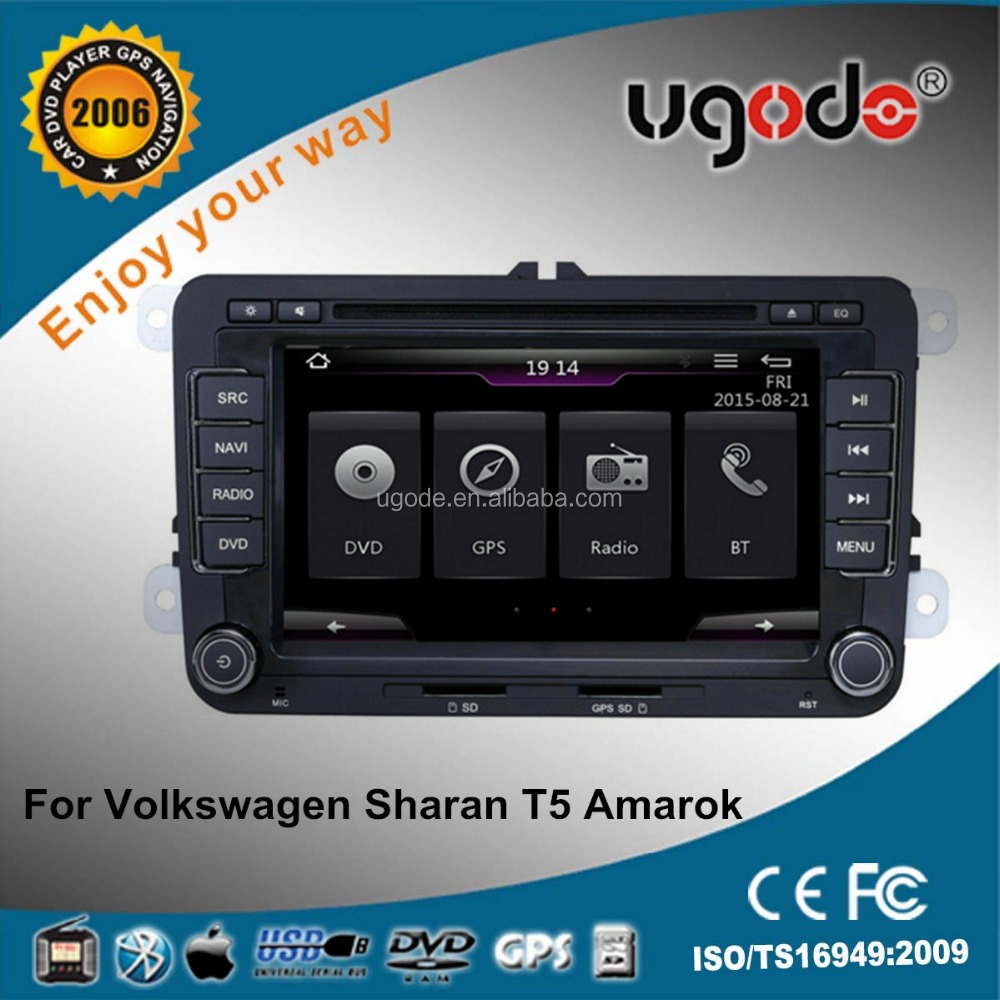 Factory price vw amarok car dvd player radio system with bluetooth
