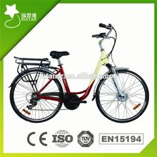 2016 Newest design 26inch 36V Ce electric battery bicycle Ce e bike for fat tyre