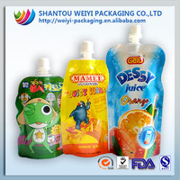 Plastic Injected Fruit-Shape Customized-Made Special Shape Juice Food Packaging Pouch Bag