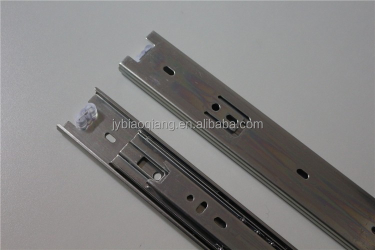 Anechoic Telescopic Ball Bearing Slide Rail for Drawer