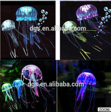 2016 hot sale Fish tank jellyfish accessories artificial plastic aquarium plants accessories jellyfish