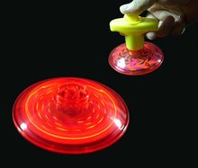 Flashing UFO Spinner
