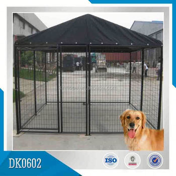 Chain Link Dog Kennel Removable