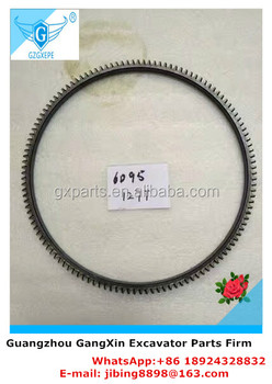 High Quality Diesel Engine 6D95 Fly Wheel Gear Ring 127 T for Excavator with factory price