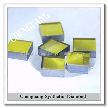 Large size Synthetic diamond plates