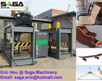 Radio Frequency RF Skateboard Press Machine High Frequency HF Plywood Bending Machine