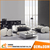 Good Quality European Style Curved Sectional