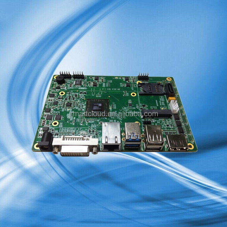 mini pc motherboard with 4-Core1.5G15W 4-Core2.0G25W