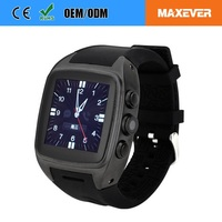 Support WiFi Network Digital CE ROHS Smart Watch