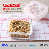 Reusable Glass Food Storage Container For Home