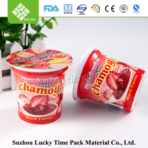 Plastic Cup Sealing Film Covered for Yogurt