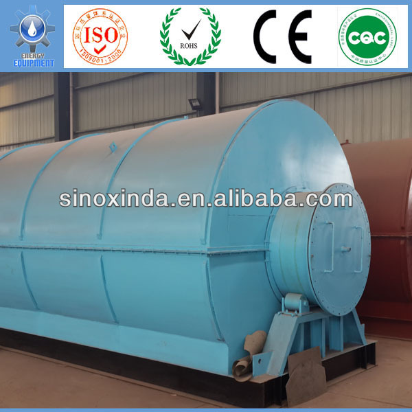 XINDAE waste tyre rubber recycling plant with CE & EPA