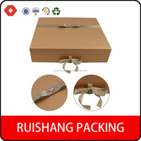 Free sample Special design gift paper packaging box with folded design magnet closure