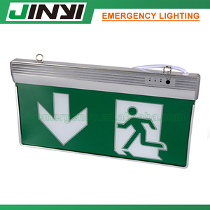 Zhongshan JINYI emergency exit sign board CE ROHS approval