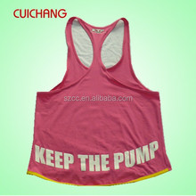 Gym singlets&bodybuilding&woman top CC-799