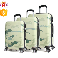 Comouflage Luggage Travel Case Spinner 4