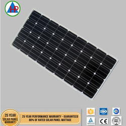 Factory high quality wholesale 18volt 100 watt solar panel for home use