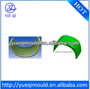 aluminumn roto mold for rotational molding car fender