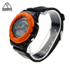 China Wholesale LED Promotional Bright Color plastic Digital unusual Watch