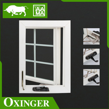 china factory low price window casement window plastic glass window