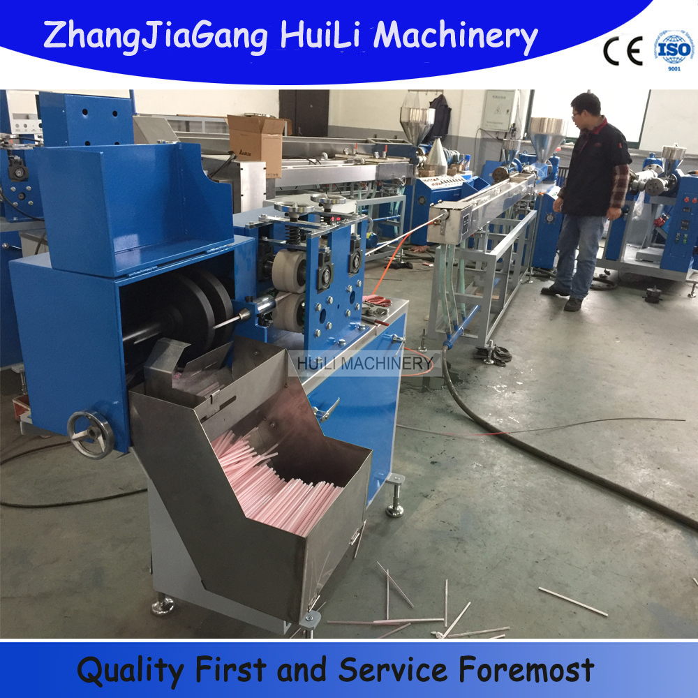 PP PE PVC plastic drink straw extrusion machinery unit ball pen refill tube production line