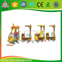 JINMIQI children park riders outdoor electric mall trains/kids electric amusement train rides for sale