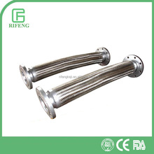 Sanitary Stainless Steel Wire Braiding hydraulic Hose Ferrule Fittings With threaded/Tri-clamped/Flange end
