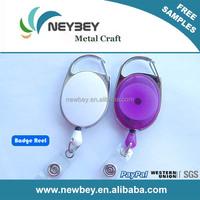 Cheap yoyo retractable id card pull reel badge