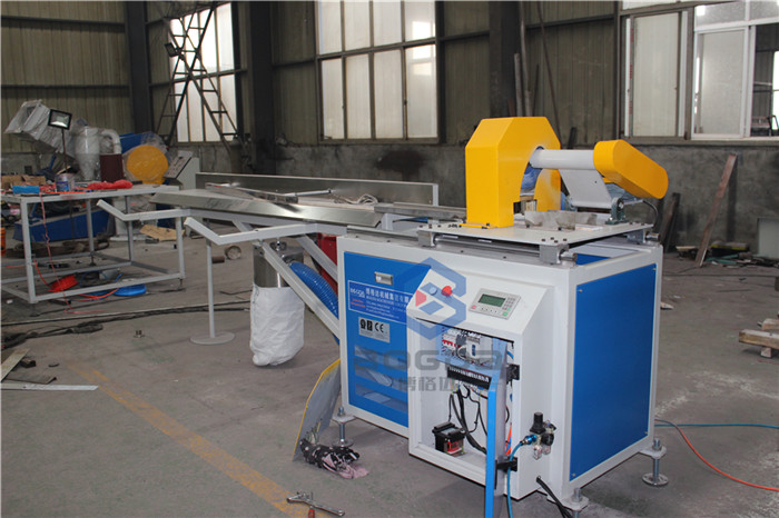 CHINA BOGDA PS Polystyrene Profile Plastic Cutting Machine for CE,ISO,SGS