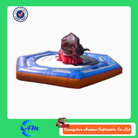 popular inflatable game inflatable bull riding machine for sale
