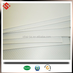 4'x8' coroplast sheet 3mm white corflute sign board