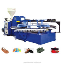 Plastic shoe making machine /pvc air blowing injection machine for soles