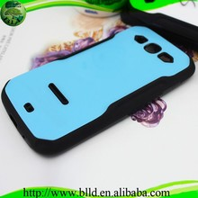 Kickstand PC TPU hybrid cover caja del telefono movil for Sasmsung S3 I9300
