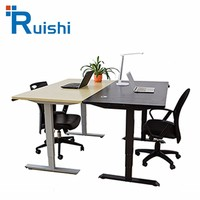 Wholesale New Eco-Friendly 2016 New Product Steel Frame Office Desk