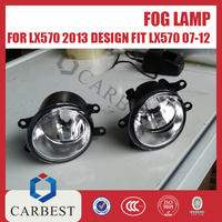 High Quality New ABS and PP Fog Light for 2014 Lexus Lx570
