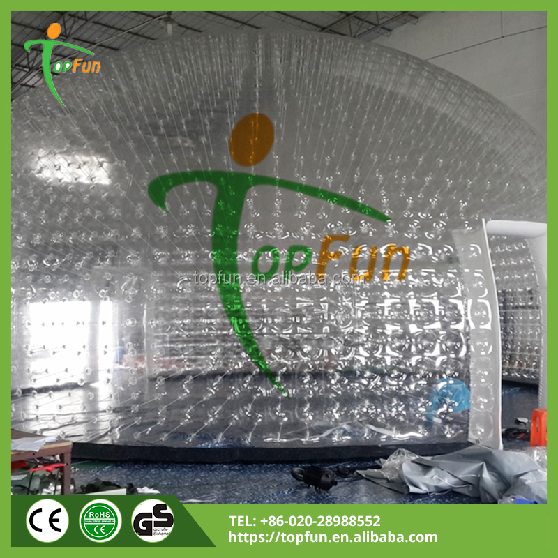 11m Giant Clear Dome Inflatable Bubble Tent For Sale