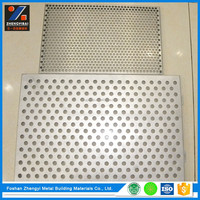 Factory Direct PVDF Coating Perforated Aluminum Sheet For Ceiling