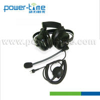 Power-Time noise-cancelling heavy-duty headset walkie talkie