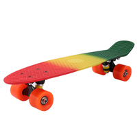 Newest skateboard four wheels three color board