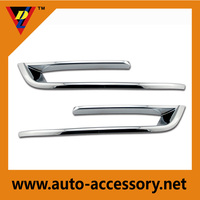 ABS plastic Car Accessories Chromed Fog light Cover Trim for BMW F10