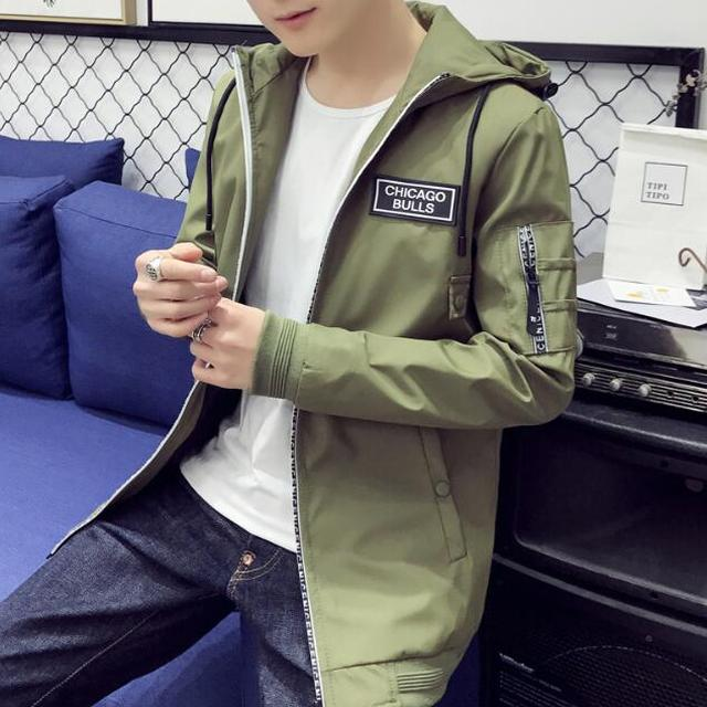 zm34341a outdoor men's casual coats fashion long sport jacket for spring
