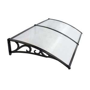 Clear Polycarbonate(PC) Transparent Plastic Awnings For Sale