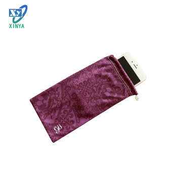 Best quality microfiber cellphone pouch