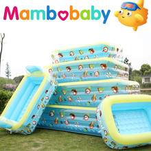 Transparent Inflatable Baby Swimming Pool/Family pool